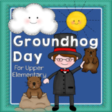 Groundhog Day for Upper Grades- With Nonfiction, Data, and Decimals