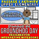 Groundhog Day: Reading Passage and Questions: Interactive Notebook