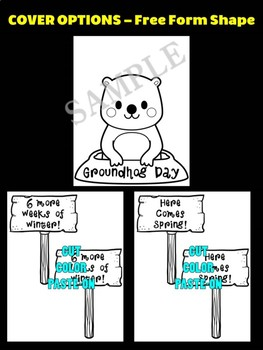 Groundhog Day with Signs  - Moonju Makers, Craft, Groundhog Day Craftivity
