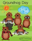 Groundhog Day Carly Clip Art_CarlyCreations