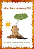 Groundhog Day's Kindergarden Literacy and Maths Activities