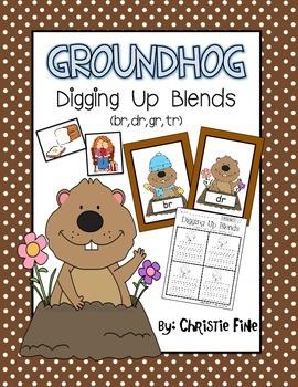 Groundhog Digging Up Blends Center