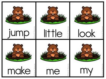 Groundhog Editable Hide and Seek