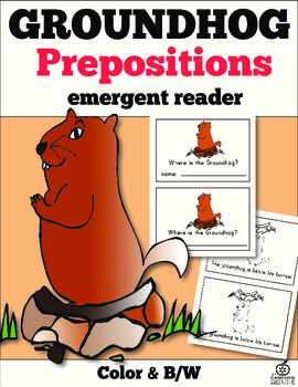 Groundhog Emergent Reader: Where Is The Groundhog?
