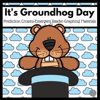 Groundhog Day Prediction Crowns-Emergent Reader-Graphing