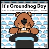 Groundhog Emergent Reader and Groundhog Crowns