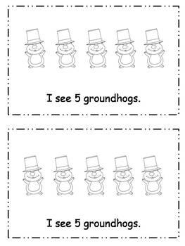 Groundhog Emergent Readers