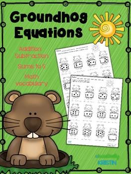Groundhog Equations for K-1 {No Prep}