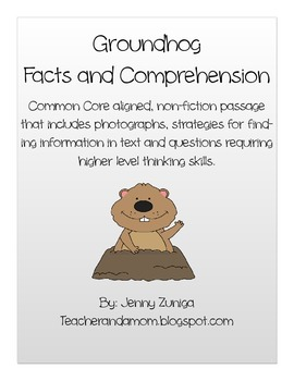 Groundhog Facts and Comprehension