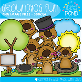 Groundhog Fun Clipart