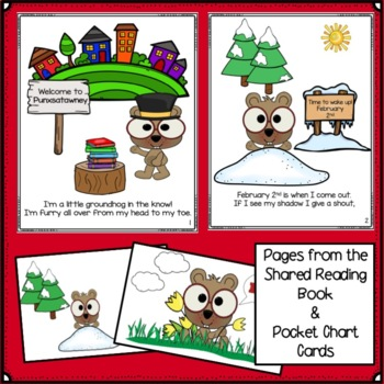 Groundhog Day Song! I'm A Little Groundhog & Literacy Activities
