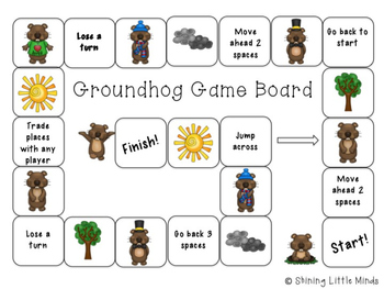 Groundhog Game Board