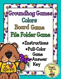 Groundhog Games Colors Board Game