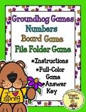 Groundhog Games Numbers Board Game
