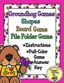 Groundhog Games Shapes Board Game