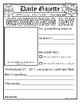 Groundhog Gazette - Writing Activities for Groundhog Day