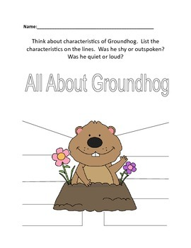 """Groundhog Gets A Say"""