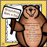 Groundhog Gets a Say Unit (Problem/Solution, Vocabulary, Opinion Writing)