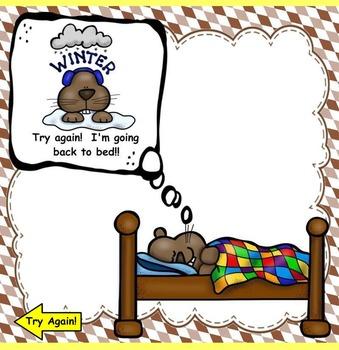 Groundhog, Groundhog, What Do You Hear? (Set 2) Ta, Ti-Ti, Z Game (PPT Ed.)