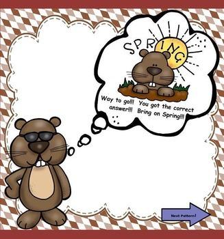 Groundhog, Groundhog, What Do You Hear? (Set 3) Ta, Ti-Ti, Z, Ta-a (PPT Ed.)