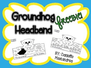 Groundhog Headband {FREEBIE}