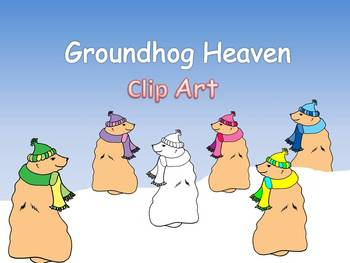 Groundhog Heaven Clip Art Freebie