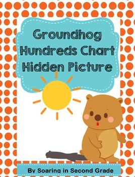 Groundhog Hundreds Chart Hidden Picture Place Value Number