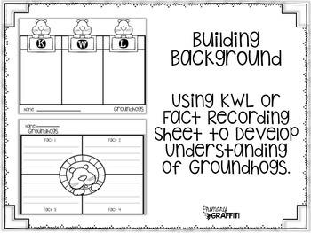 Groundhog Informational Book Companion