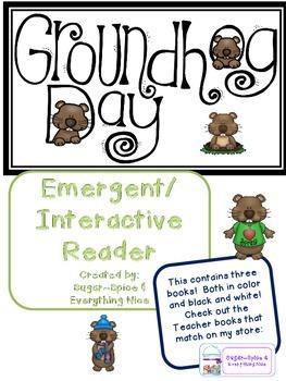 Groundhog Interactive/Emergent Reader