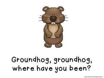 Groundhog Interactive/Emergent Reader Teacher Version
