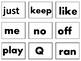 Groundhog Kindergarten Sight Word Game
