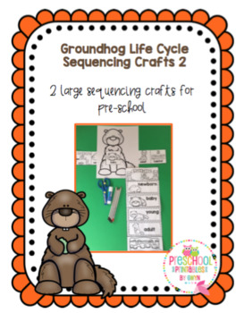 Groundhog Life Cycle Sequencing Craft 2