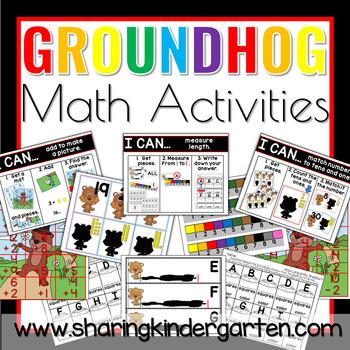 Groundhog Math Activities