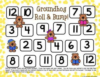 Groundhog Math Centers