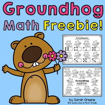 Groundhog Math {freebie!}