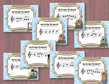 Groundhog Melodies! Interactive Melodic Game BUNDLE! 4 Solfege Levels