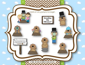 Groundhog Melodies! Interactive Melodic Game - Practice Do (do-mi-so-la)