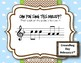 Groundhog Melodies! Interactive Melodic Game - Practice So and Mi