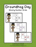 Groundhog Missing Number Grids 0-100