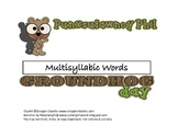 Groundhog Multi-syllabic Words