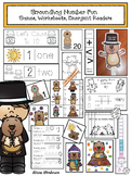35% Off: Groundhog Number Fun: Games, Worksheets, Emergent Readers & Centers!