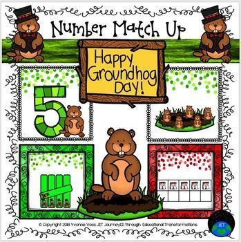 Groundhog Number Match Up