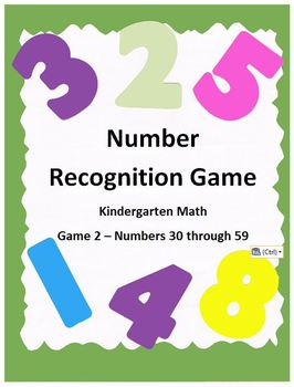 Number Recognition 2 - Kindergarten Math