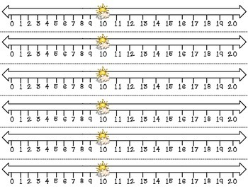 Groundhog Number Sort 1-20  **Greater Than/Less Than 10 Sorting Center**