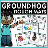 Groundhog Play Dough Mats Activities