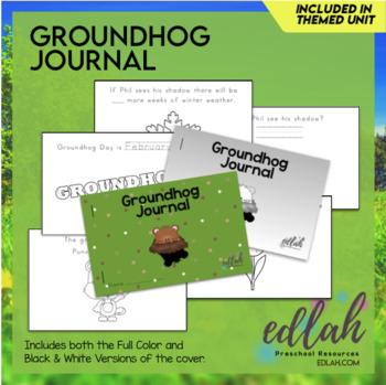 Groundhog Printable Journal
