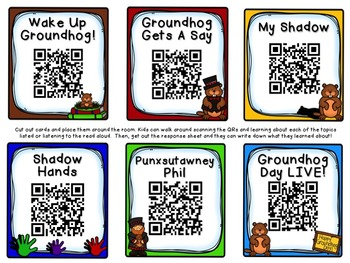 Groundhog QR + Labeling, reseach, write the room!