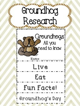 Groundhog Research