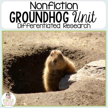 Groundhog Research Unit - Differentiated Group Work & Detailed Lesson Plan