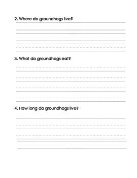 Groundhog Research Write
